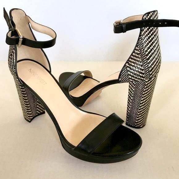 d187b501a4fd NEW Nine West Dempsey Platform Ankle Strap Heels. M 5a6bfcee2ab8c529b032ceb0